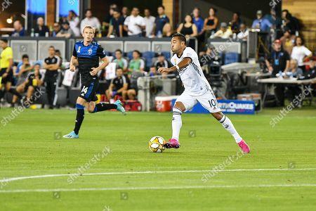 Philadelphia Union midfielder Marco Fabian (10) in action during the MLS match between the Philadelphia Union and the San Jose Earthquakes at Avaya Stadium in San Jose, California
