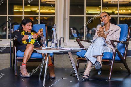 Stock Photo of Sonia Guajajara and Marina Silva