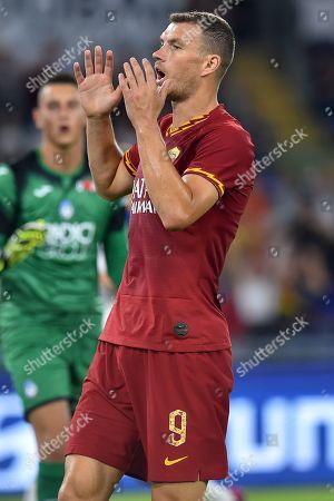 Edin Dzeko of Roma