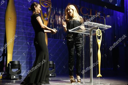 Sheryl Crow on stage at the 60th Annual Clio Awards at The Manhattan Center on in New York
