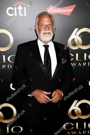 Jonathan Goldsmith on the red carpet before the 60th Annual Clio Awards at The Manhattan Center on in New York