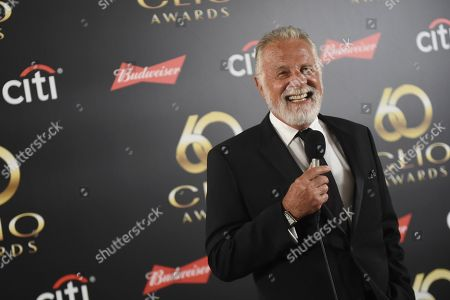 Jonathan Goldsmith in the green room during 60th Annual Clio Awards at The Manhattan Center, in New York