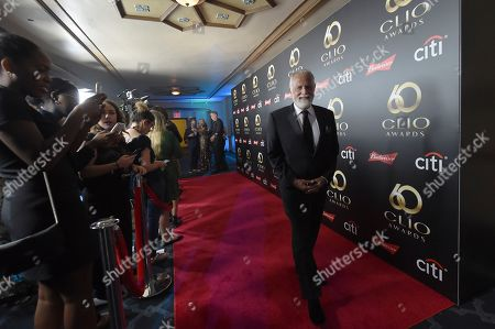 Jonathan Goldsmith walks the red carpet before the 60th Annual Clio Awards at The Manhattan Center, in New York