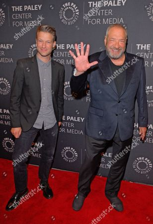 (L to R) Peter Scanavino and Dick Wolf
