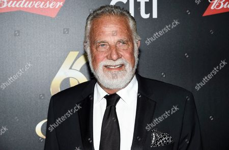 """Stock Image of Jonathan Goldsmith aka """"The Most Interesting Man in the World"""" attends the 60th annual Clio Awards at The Manhattan Center, in New York"""