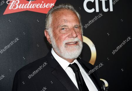 """Stock Photo of Jonathan Goldsmith aka """"The Most Interesting Man in the World"""" attends the 60th annual Clio Awards at The Manhattan Center, in New York"""