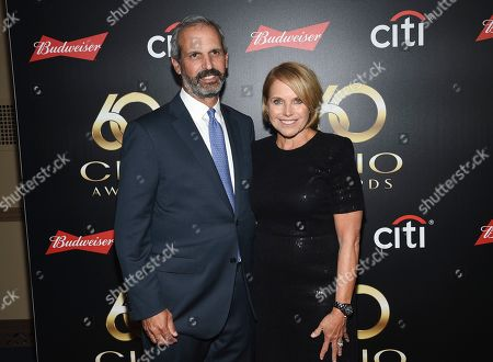 John Molner, Katie Couric. Television journalist Katie Couric and husband John Molner attends the 60th annual Clio Awards at The Manhattan Center, in New York