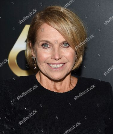 Katie Couric attends the 60th annual Clio Awards at The Manhattan Center, in New York