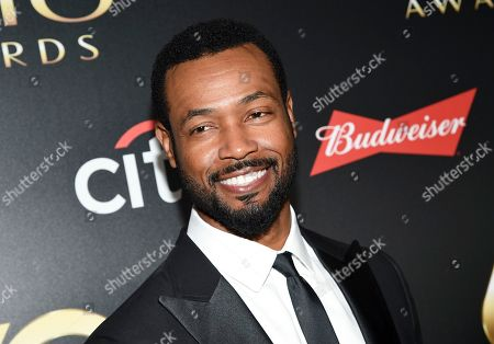 "Isaiah Mustafa aka ""The Old Spice Guy"" attends the 60th annual Clio Awards at The Manhattan Center, in New York"
