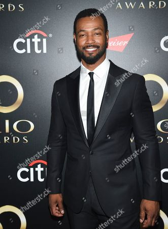 "Stock Photo of Isaiah Mustafa aka ""The Old Spice Guy"" attends the 60th annual Clio Awards at The Manhattan Center, in New York"