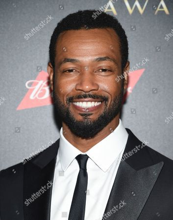 """Isaiah Mustafa aka """"The Old Spice Guy"""" attends the 60th annual Clio Awards at The Manhattan Center, in New York"""
