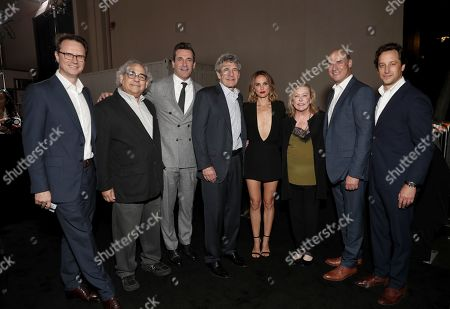 Peter Rice, Steve Gilula, Jon Hamm, Alan F. Horn, Natalie Portman, Nancy Utley, Matthew Greenfield, David Greenbaum