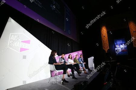 Editorial photo of AI as Creative Collaborator seminar, Advertising Week New York, AMC Lincoln Square, New York, USA - 26 Sep 2019