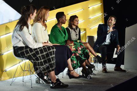Editorial photo of Mom Bosses seminar, Advertising Week New York, AMC Lincoln Square, New York, USA - 26 Sep 2019