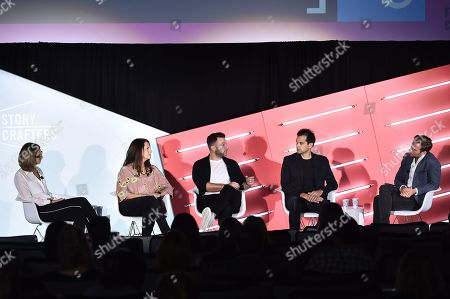 Editorial image of Masters of Monetizing Content seminar, Advertising Week New York, AMC Lincoln Square, New York, USA - 26 Sep 2019