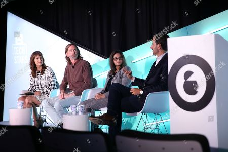 Joanna O'Connell (VP and Principal Analyst, Forrester Research), Tom Kershaw (Chief Technology Officer, Rubicon Project), Reshma Karnik (Global Vice President, Amnet Audience Center, Amnet Programmatic Experts for Dentsu Aegis Network) and Jeremy Steinberg (Global Head of Ecosystem, MediaMath)