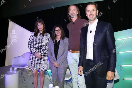Joanna O'Connell (VP and Principal Analyst, Forrester Research), Reshma Karnik (Global Vice President, Amnet Audience Center, Amnet Programmatic Experts for Dentsu Aegis Network), Tom Kershaw (Chief Technology Officer, Rubicon Project) and Jeremy Steinberg (Global Head of Ecosystem, MediaMath)