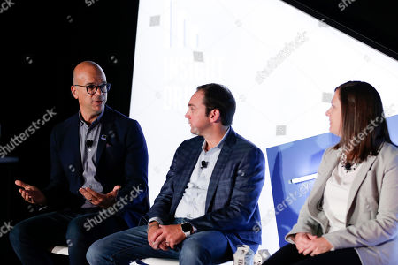Scott Kelliher (Head of Brand Advertising and Partnerships, eBay Advertising), Chris Merrill (SVP, CMO Direct to Consumer, Synchrony) and Andrea Derby (Director, US Advertising & Global Brand Management, UPS)