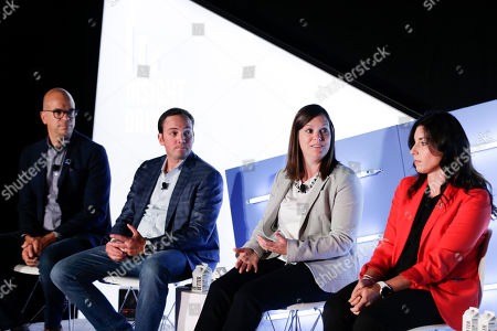 Scott Kelliher (Head of Brand Advertising and Partnerships, eBay Advertising), Chris Merrill (SVP, CMO Direct to Consumer, Synchrony), Andrea Derby (Director, US Advertising & Global Brand Management, UPS) and Alisha Wilmoth (Director, Media Partnerships, ALSAC/St. Jude Children?s Research Hospital)