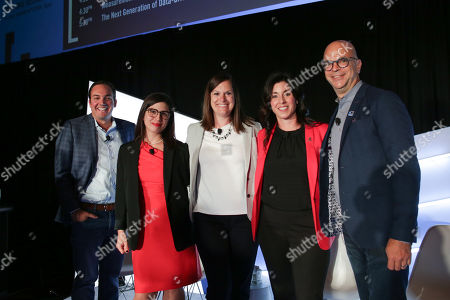 Editorial image of Why the Hottest New Digital Publishers Aren't Publishers At All seminar, Advertising Week New York, AMC Lincoln Square, New York, USA - 26 Sep 2019
