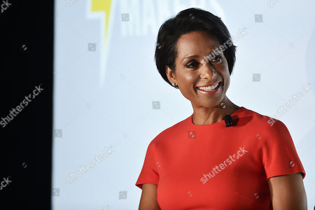 Stock Picture of Sade Baderinwa (Anchor, Eyewitness News,WABC-TV)