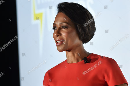 Stock Photo of Sade Baderinwa (Anchor, Eyewitness News,WABC-TV)