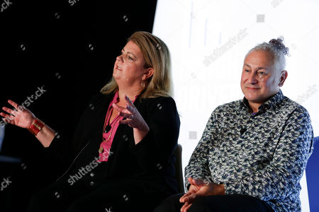 Beth Coleman (Senior Vice President, Marketing and Partner Insights, Viacom) and Jonathan Steuer (Chief Research Officer, Omnicom Media Group)