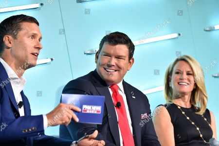 Jeff Collins (EVP Advertising Sales, FOX News Media), Bret Baier (FOX News Chief Political Anchor and Anchor, FNC?s Special Report with Bret Baier) and Martha MacCallum (Anchor & Co-Anchor, The Story & FNC?s election coverage)