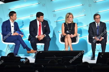 Editorial image of Politics as Pop Culture: How the News Has Become the New Must-See TV and What to Know Heading into 2020 seminar, Advertising Week New York, AMC Lincoln Square, New York, USA - 26 Sep 2019