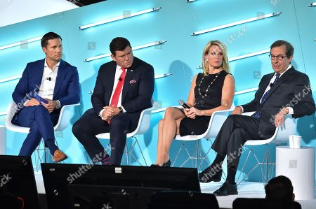 Editorial photo of Politics as Pop Culture: How the News Has Become the New Must-See TV and What to Know Heading into 2020 seminar, Advertising Week New York, AMC Lincoln Square, New York, USA - 26 Sep 2019