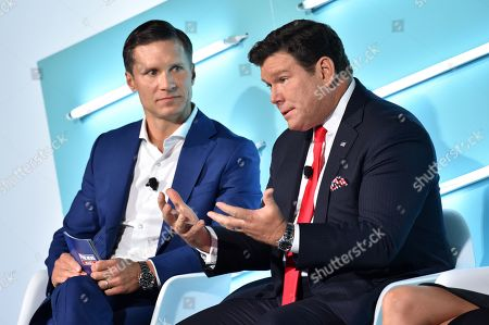 Stock Photo of Jeff Collins (EVP Advertising Sales, FOX News Media) and Bret Baier (FOX News Chief Political Anchor and Anchor, FNC?s Special Report with Bret Baier)