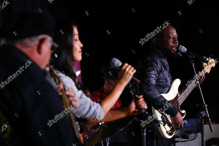Editorial picture of Wyclef Jean Presents a Creative Production Masterclass seminar, Advertising Week New York, AMC Lincoln Square, New York, USA - 26 Sep 2019