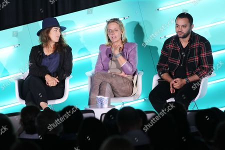 Editorial photo of Inside The Great Hack seminar, Advertising Week New York, AMC Lincoln Square, New York, USA - 26 Sep 2019