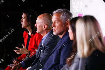 Marla Kaplowitz (President & CEO, 4AÕs), David Angelo (Founder, Chairman, David&Goliath), Bill Oberlander (Co-Founder and ECD, OBERLAND), Lauren Rieckhoff (Co-Founder, wilyfoXX Collective), Karen Duffy (Co-Founder, wilyfoXX Collective)