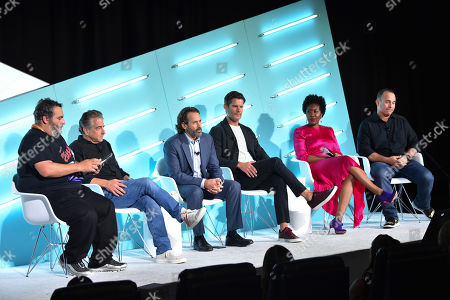 Noah Mallin (Leading Experience, Content, Sponsorships, Wavemaker North America), Andrew Klein (Senior Vice President, AEG Global Partnerships), Dan Donnelly (SVP, Advertising Sales Marketing, FOX Sports), Eric Johnson (SVP, Marketing, Condé Nast), Shavonne Dargan (SVP, Brand Management, Live Nation Entertainment) and Todd Kaplan (VP Marketing, Colas, Pepsi)