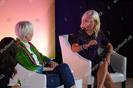 Joanna Coles (Founder & Chief Creative Officer, Boudica) and Carolyn Everson (VP, Global Marketing Solutions, Facebook)