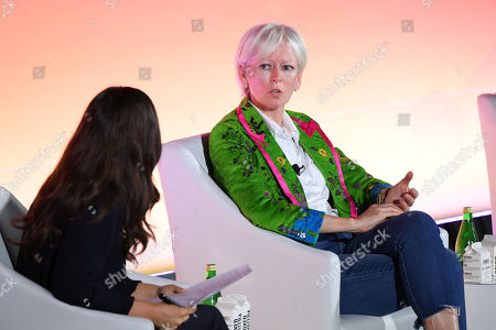Sara Fischer (Media Reporter, Axios) and Joanna Coles (Founder & Chief Creative Officer, Boudica)