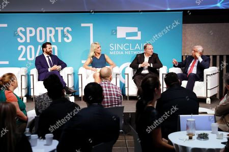 Editorial picture of Leadership Breakfast: Sports 20:20, Advertising Week New York, Lincoln Center, New York, USA - 26 Sep 2019