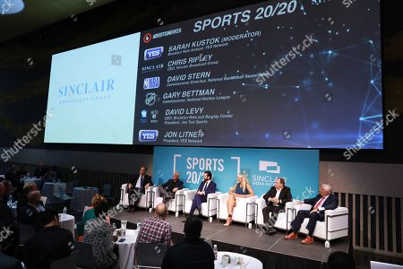 Editorial photo of Leadership Breakfast: Sports 20:20, Advertising Week New York, Lincoln Center, New York, USA - 26 Sep 2019