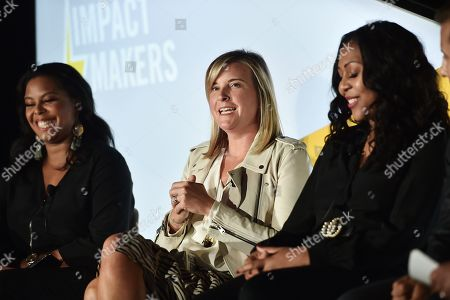 Dia Simms (President, Combs Enterprises), Meredith Guerriero (US Head of Partnerships, Pinterest), and Thai Randolph (GM and EVP, Kevin Hart's Laugh Out Loud Network)