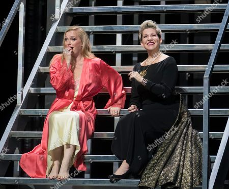 Lucy Crowe as Poppea,  Joyce DiDonato as Agrippina