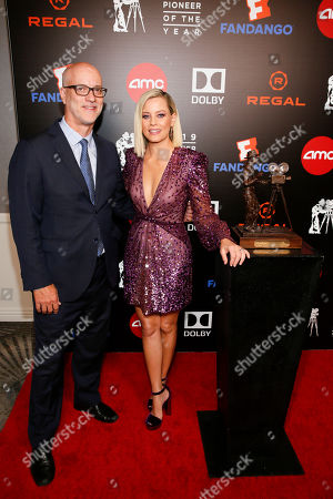 John Fithian and Elizabeth Banks