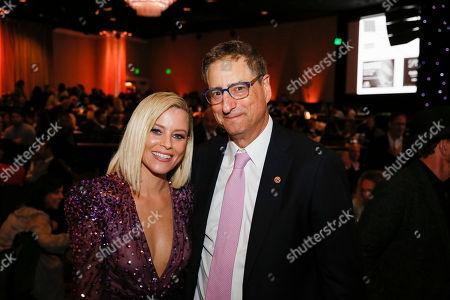 Elizabeth Banks and Tom Rothman