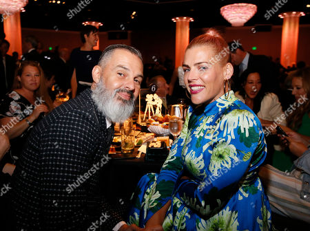 Editorial photo of Pioneer of the Year Dinner Honoring Elizabeth Banks, Inside, The Beverly Hilton, Los Angeles, USA - 25 Sep 2019