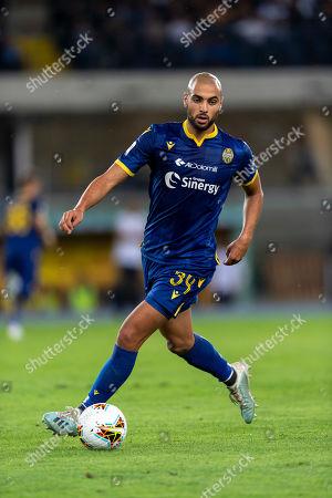 Editorial photo of Hellas Verona v Udinese, Serie A football match, Verona, Italy - 24 Sep 2019