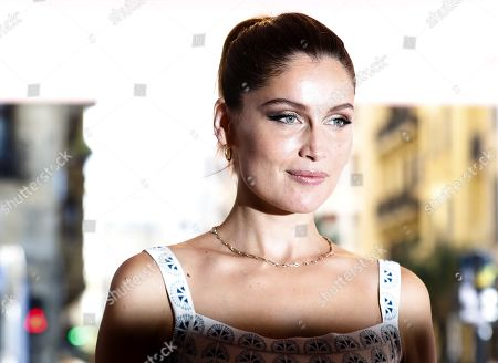 Laetitia Casta attends the 67th edition of the San Sebastian International Film Festival (SSIFF) at San Sebastian, Basque Country, Spain, 26 September 2019. Casta stars in Delphine Lehericey's 'Beyond the Horizon', which is presented in the New Directors section of the festival. SSIFF runs from 20 to 28 September.