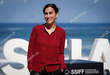 Sarah Gavron poses during the presentation of their film 'Rocks' within the official section in the 67th edition of the San Sebastian International Film Festival, 26 September 2019, in San Sebastian, Spain.