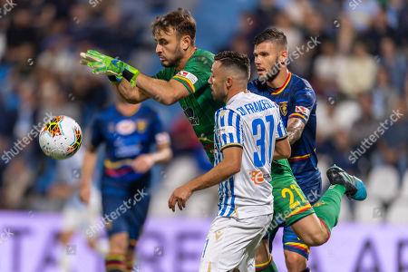 Gabriel Vasconcelos Ferreira (Lecce) Federico Di Francesco (Spal) Marco Calderoni (Lecce)