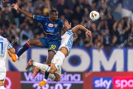 Editorial image of SPAL v Lecce, Serie A football match, Paolo Mazza Stadium, Ferrara, Italy - 25 Sep 2019