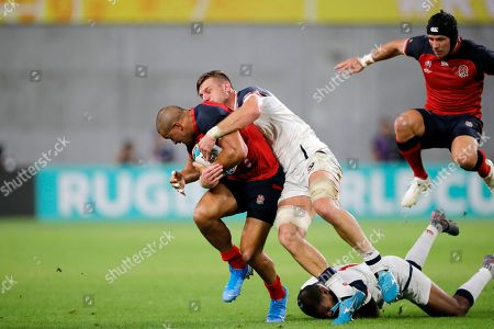 Editorial image of Rugby WCup England USA, Kobe, Japan - 26 Sep 2019